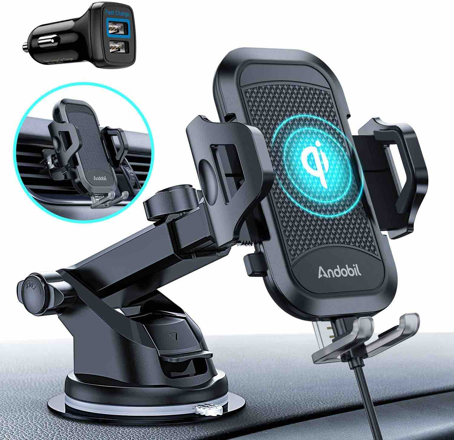 andobil-ultimate-car-phone-mount-wireless-charger
