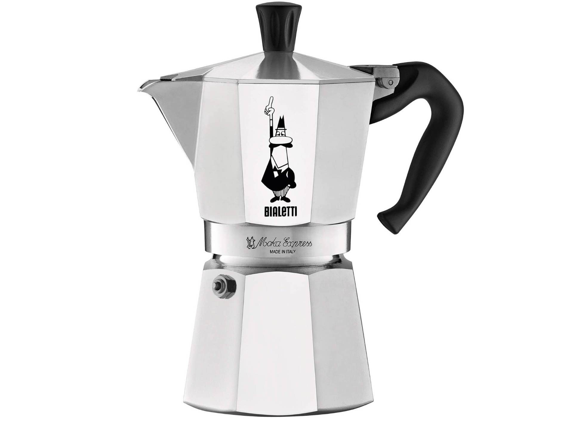 The classic moka pot stovetop coffee maker. ($35)