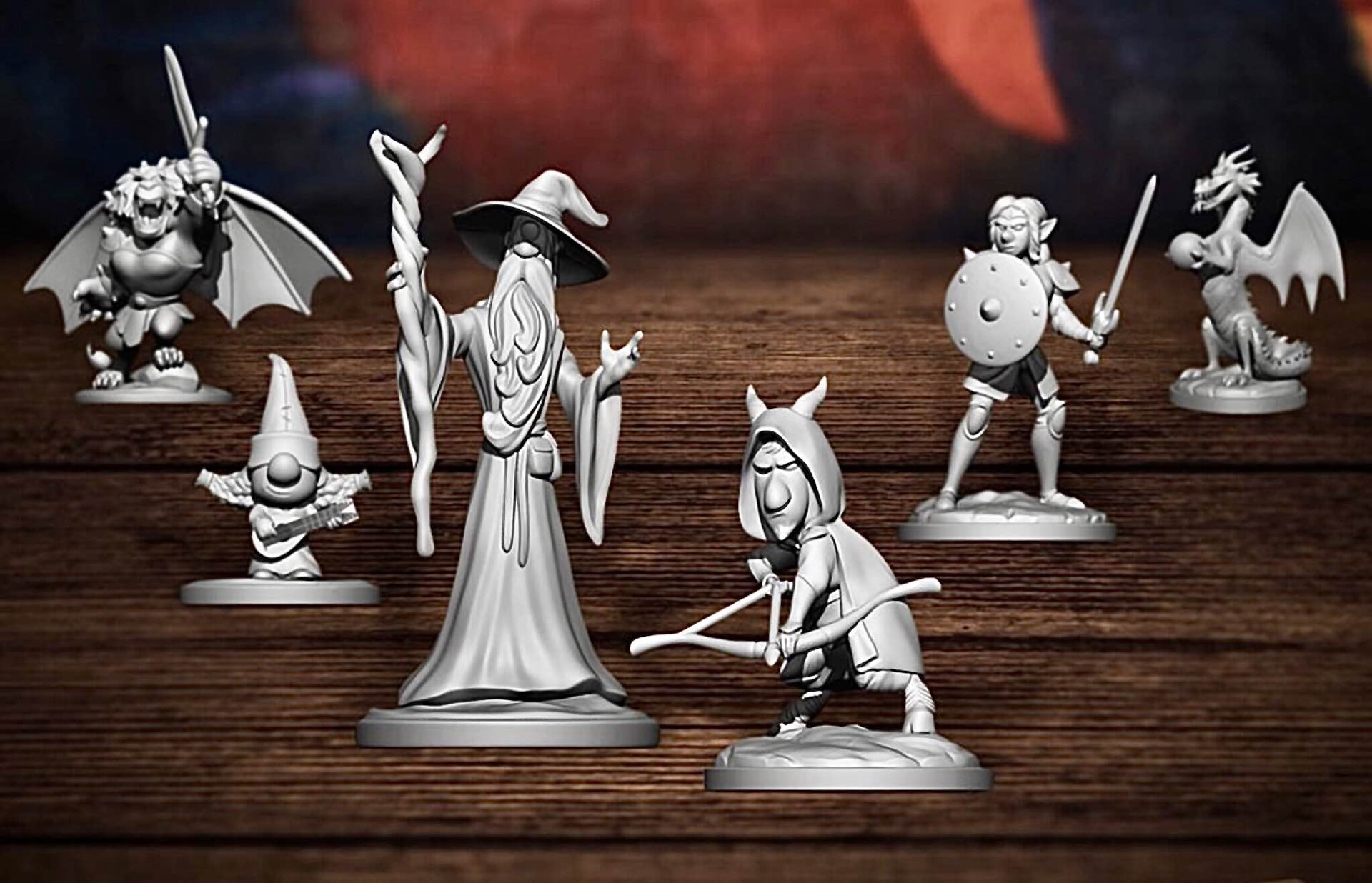 "Pre-order Disney & Pixar's ""Quests of Yore: Barley's Edition"" Role-Playing Board Game from 'Onward'"