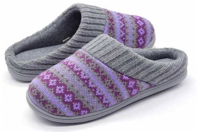 rockdove-fair-isle-sweater-knit-womens-memory-foam-slippers-periwinkle