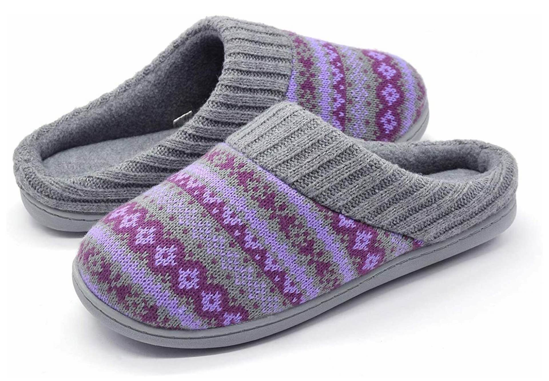 rockdove-fair-isle-sweater-knit-womens-memory-foam-slippers-periwinkle