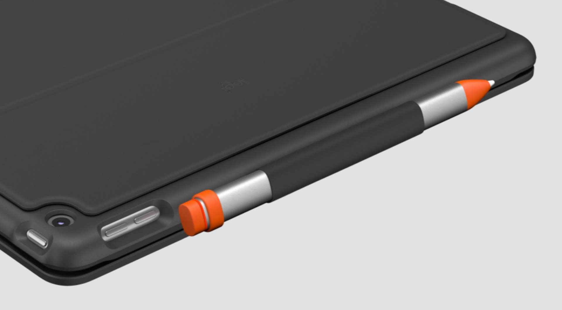logitech-slim-folio-keyboard-case-for-8th-gen-ipad-2020-stylus-holder