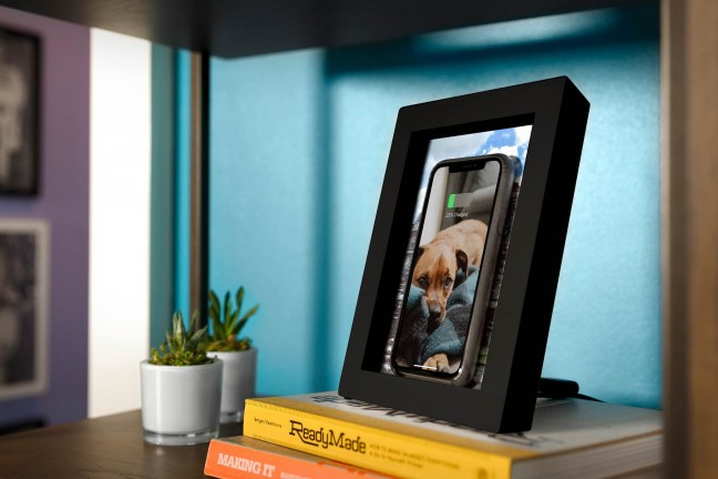Twelve South PowerPic picture frame & Qi charger. ($59)