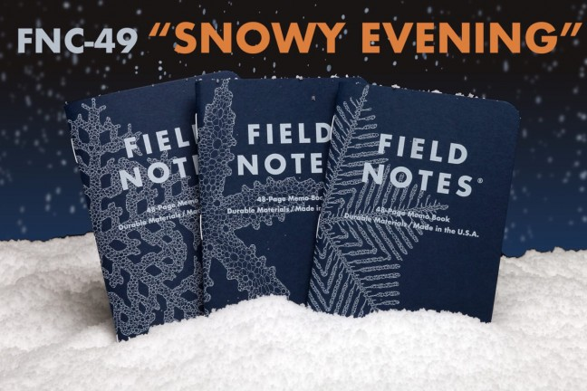 field-notes-snowy-evening-edition