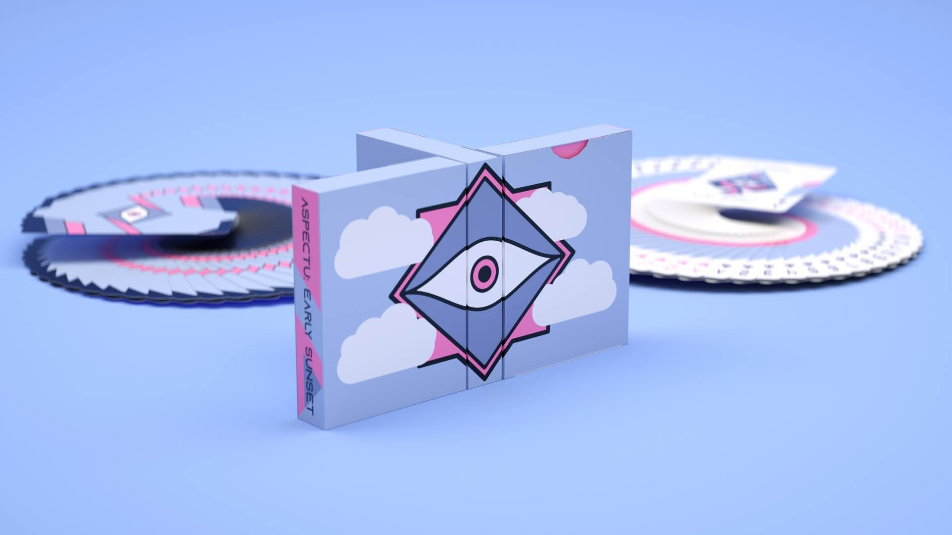 the-seers-aspectu-v2-early-sunset-playing-card-deck-three-tuck-boxes