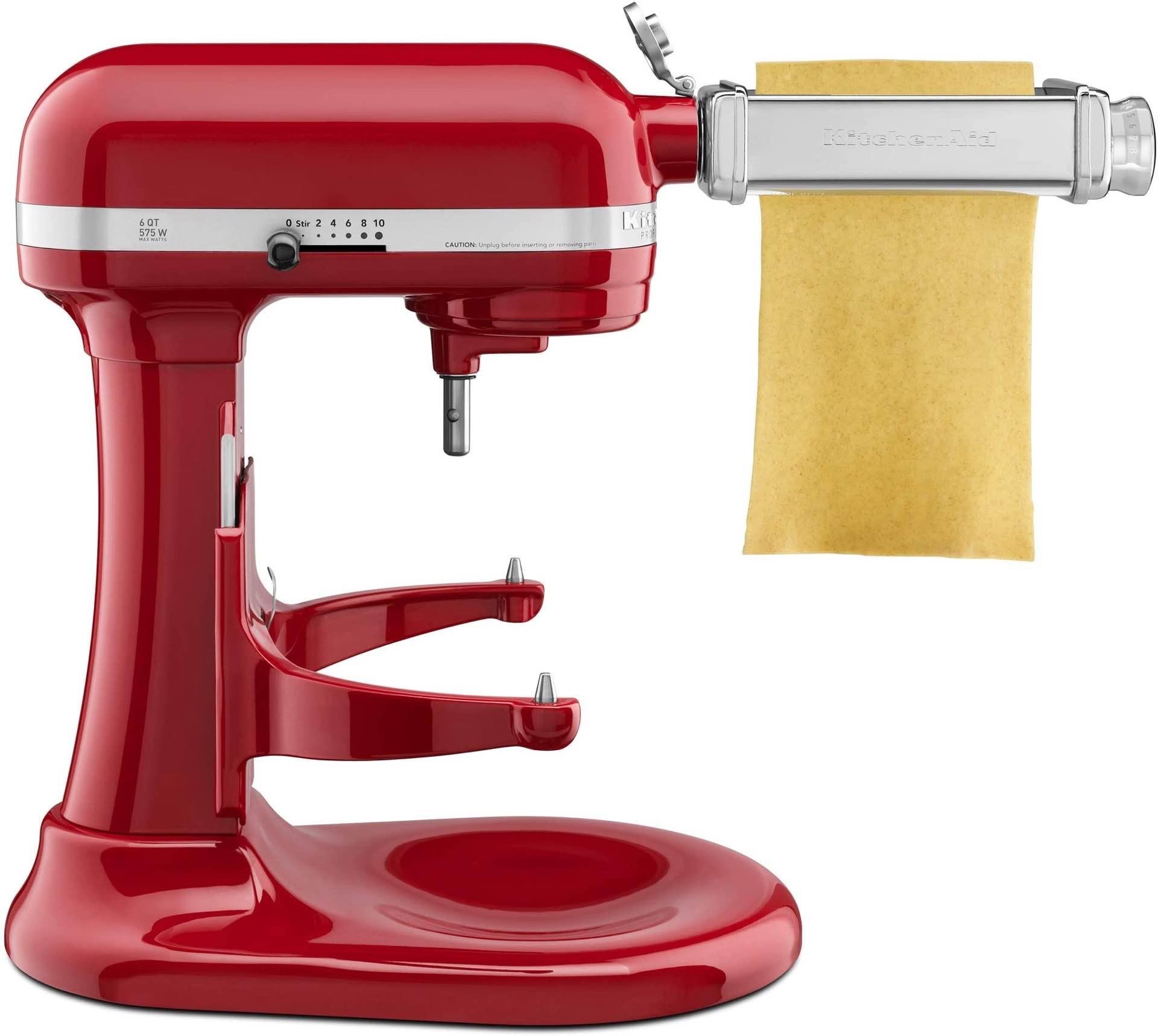 kitchenaid-pro-600-series-stand-mixer-red-pasta-attachment