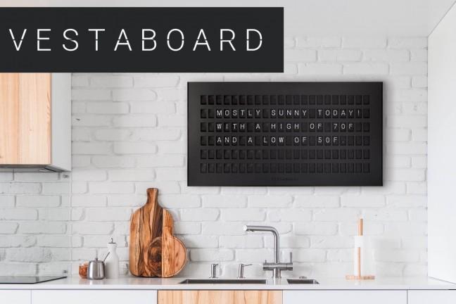 the-vestaboard-smart-flip-sign-board