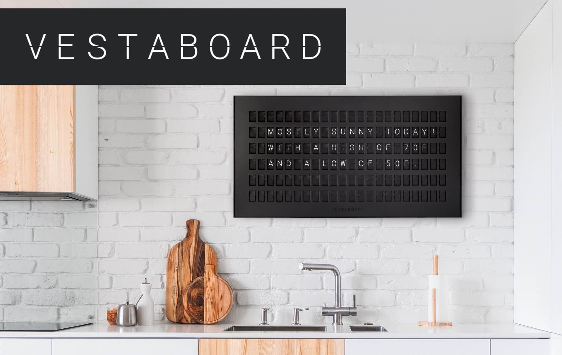 the-vestaboard-smart-flip-sign-board
