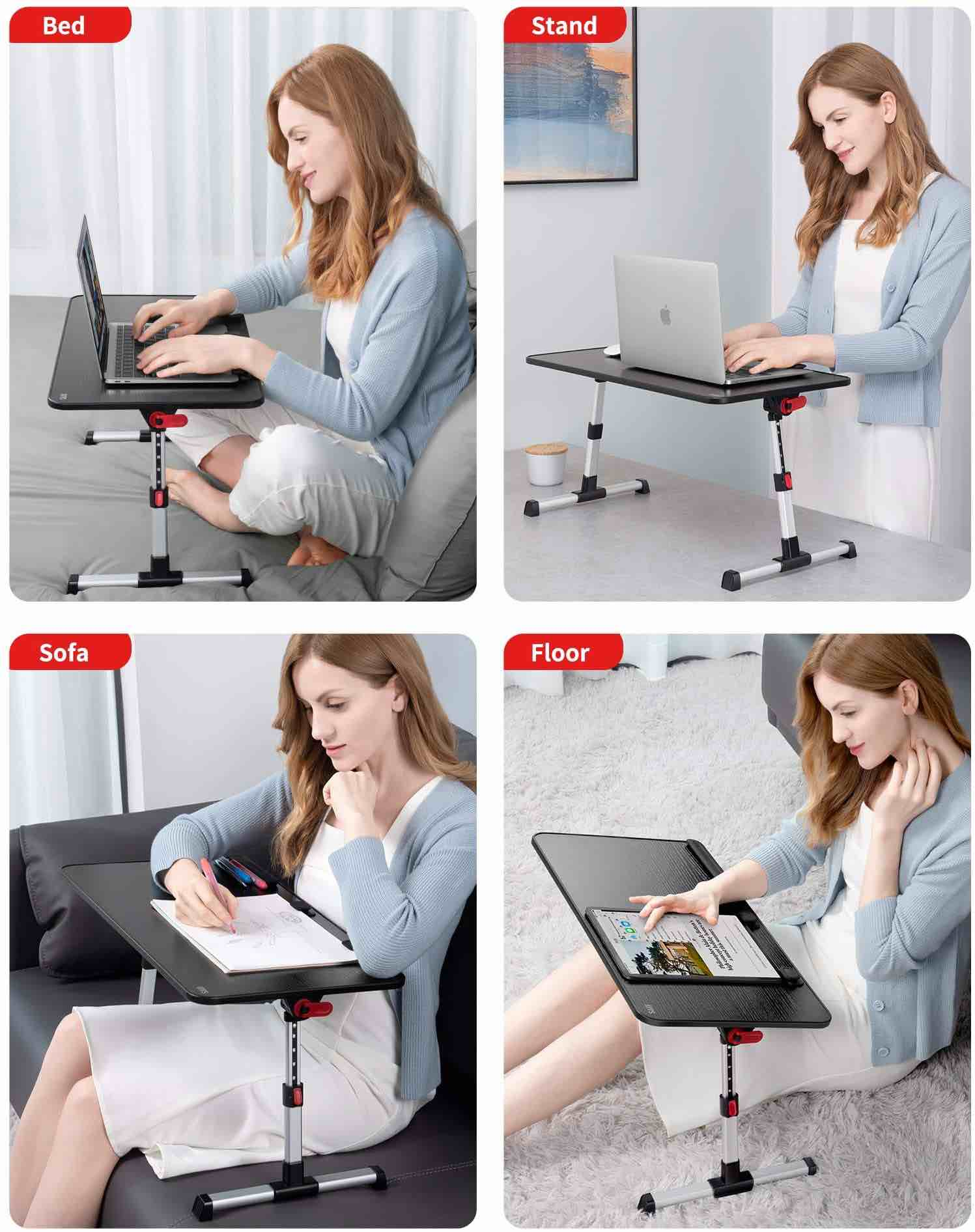 saiji-adjustable-laptop-stand-portable-standing-desk-bed-tray-table-modes