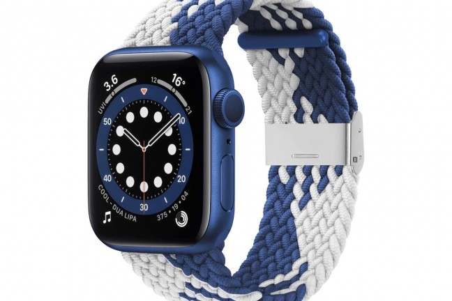 bagoplus-elastic-braided-solo-loop-band-for-apple-watch