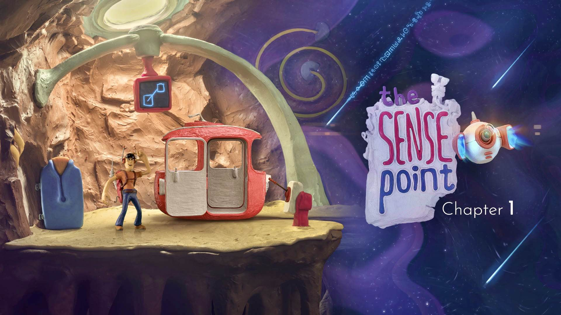 'The Sense Point' — A Claymation Adventure Game for iOS