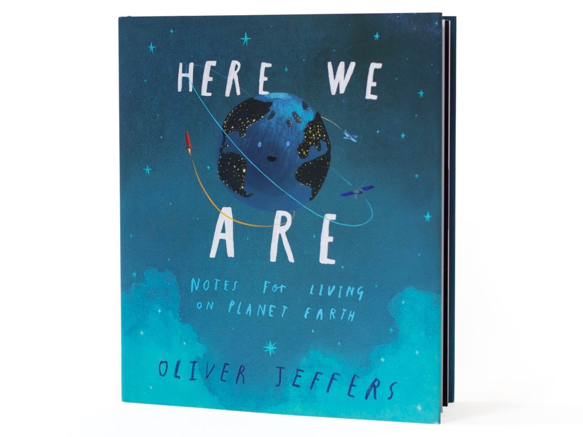 'Here We Are: Notes for Living on Planet Earth' by Oliver Jeffers