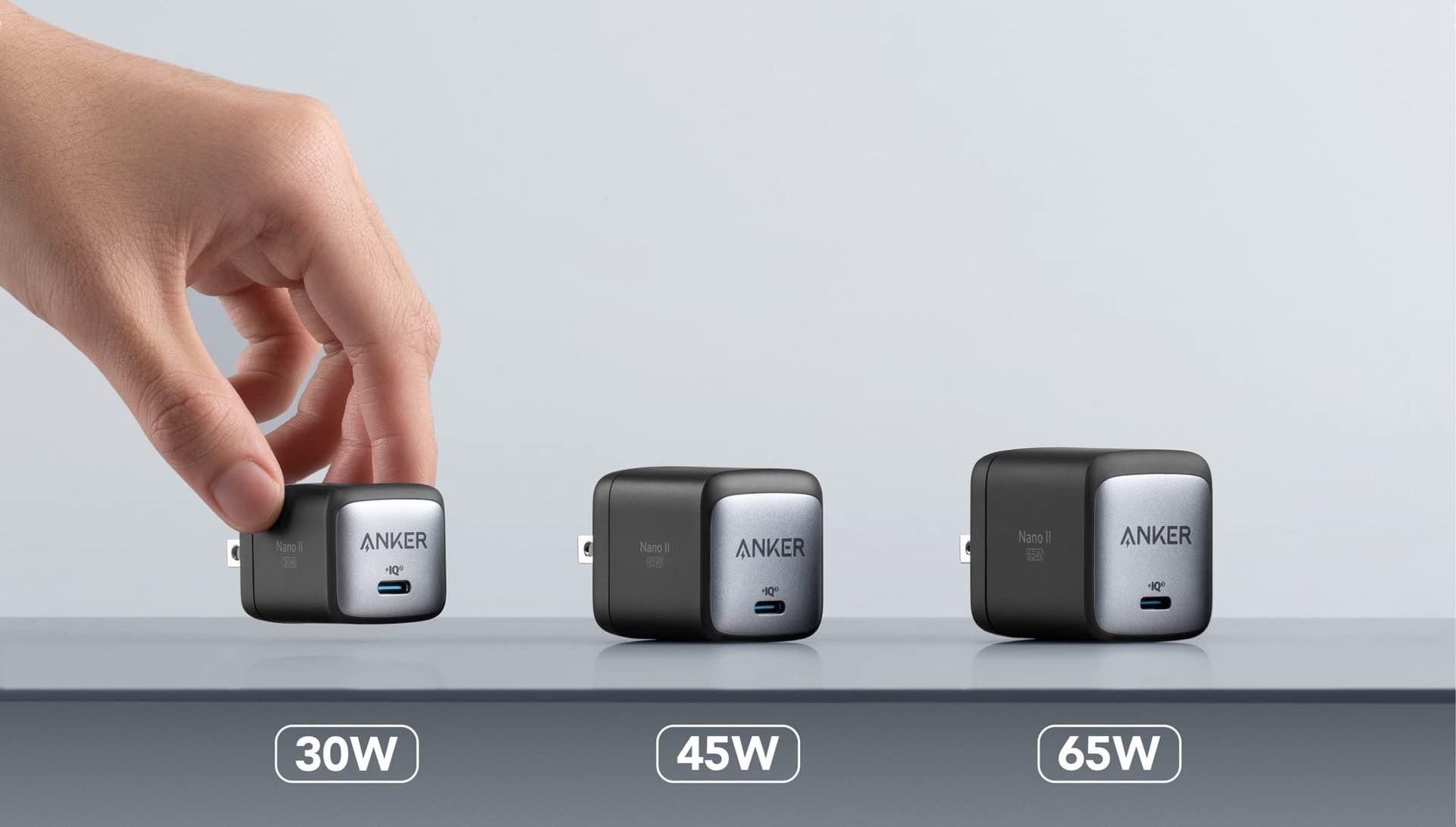 anker-nano-ii-gan-ii-portable-usb-c-chargers-comparison