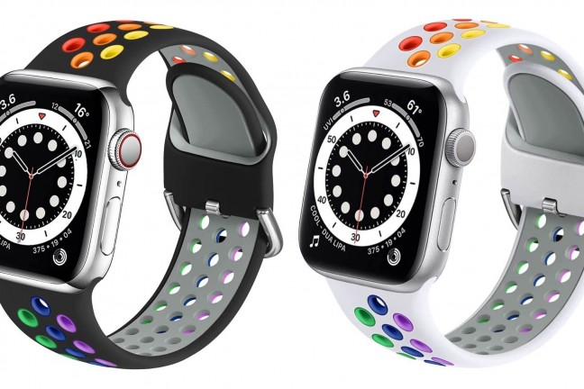 muranne-rainbow-accented-silicone-sport-strap-for-apple-watch