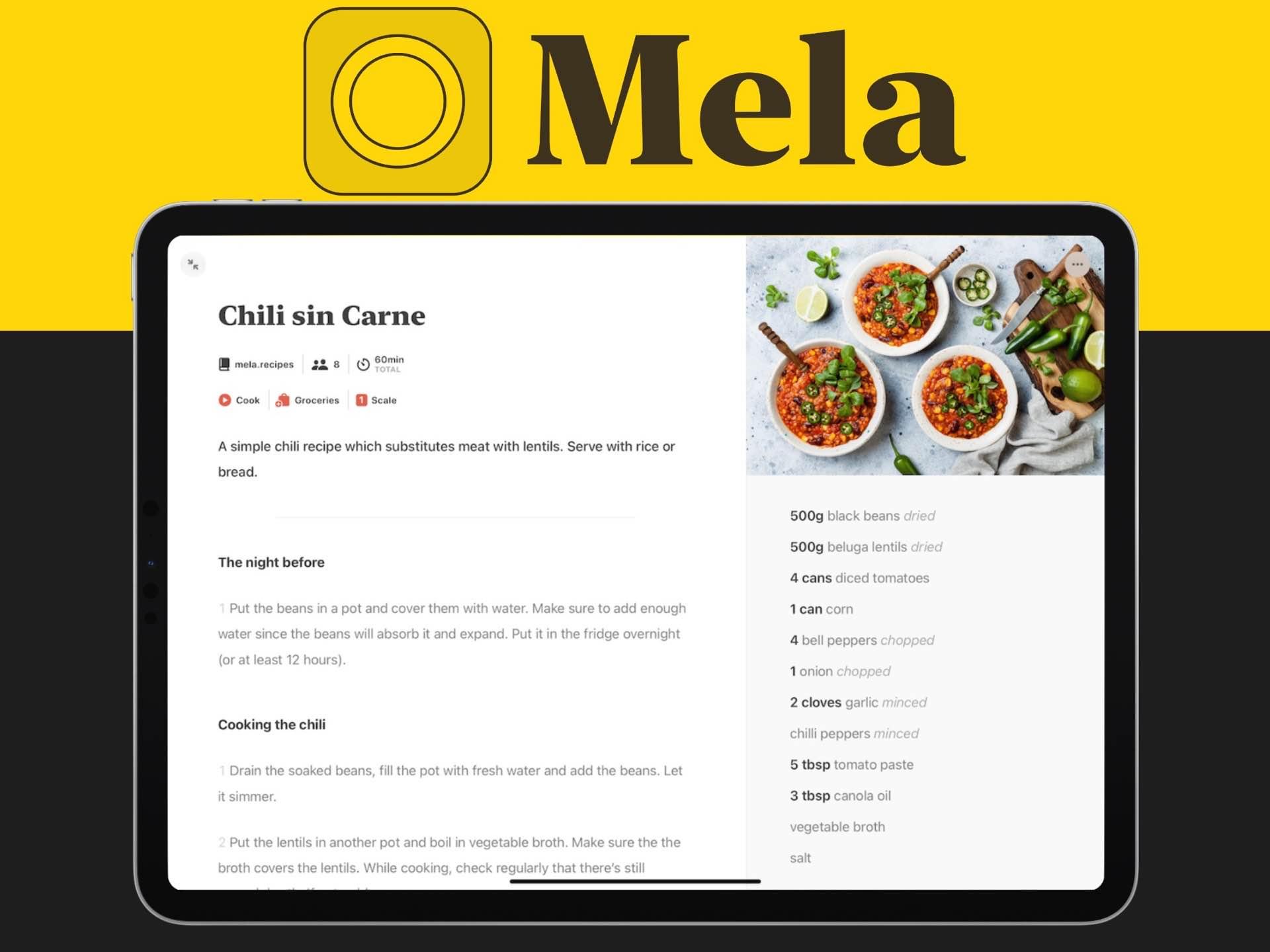 mela-recipe-app-silvio-rizzi