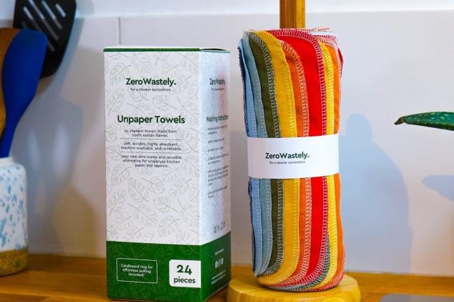 zerowastely-unpaper-towels